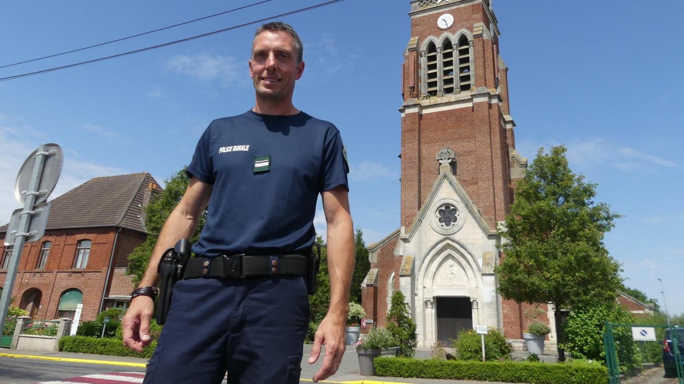 Yannick Delalleau sera sur la commune en septembre, un jour et demi par semaine, à des horaires aléatoires.