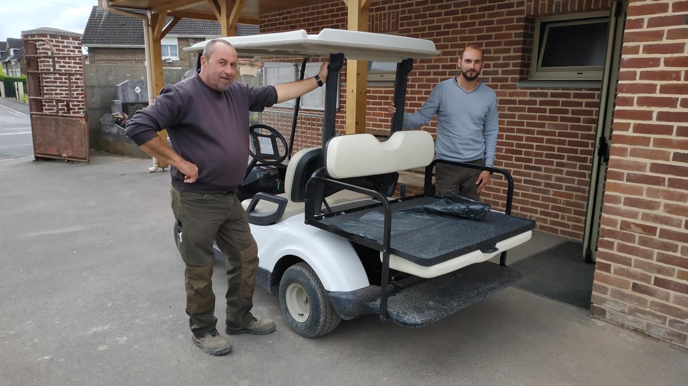 Grenay : une voiturette pour se déplacer au cimetière