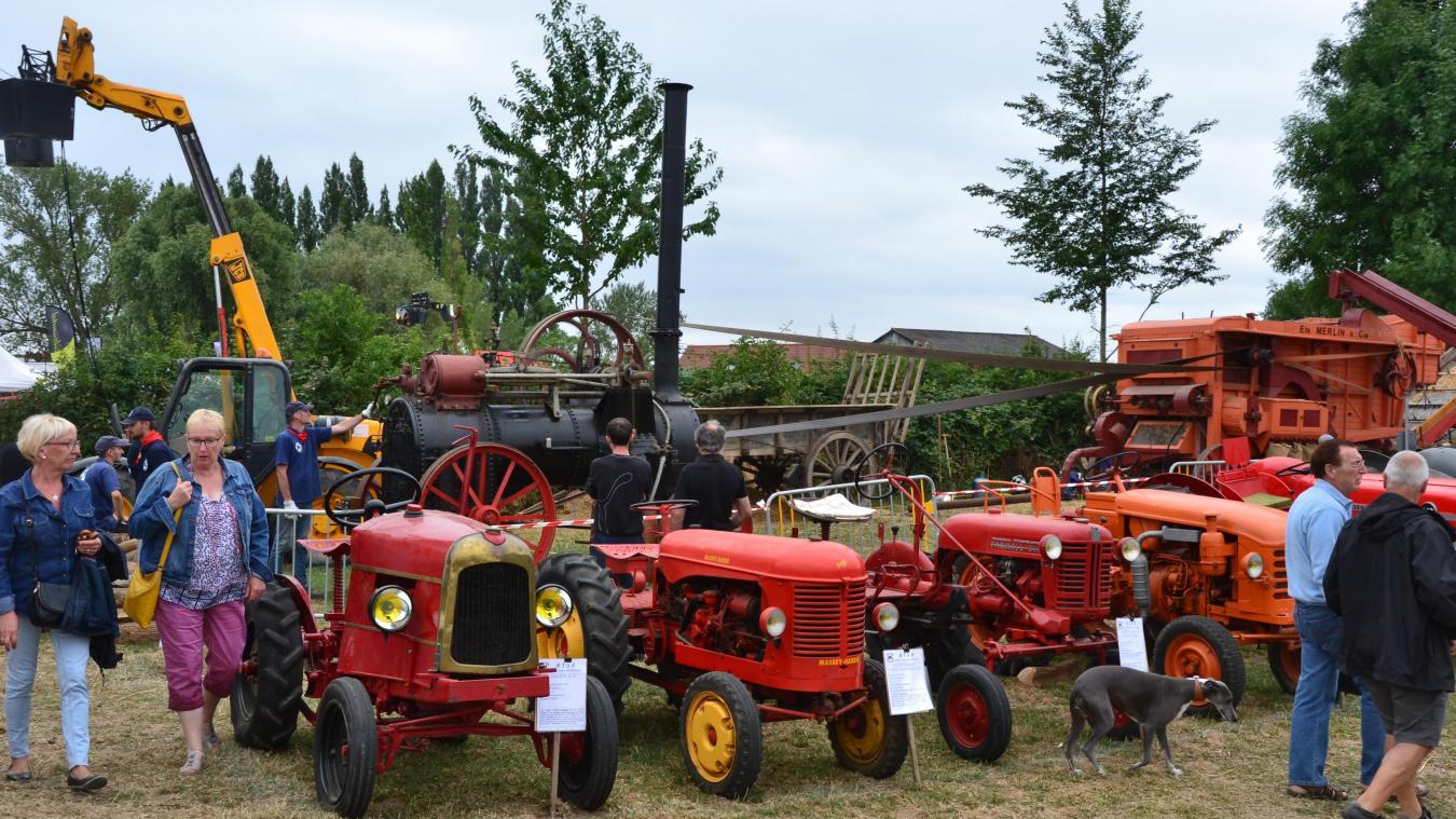 Les engins agricoles constituent le cœur de ce musée d'antan à ciel ouvert. Au programme, plusieurs fois par jour, des démonstrations de battage à l'ancienne. De quoi raconter l'agriculture d'autrefois aux enfants.