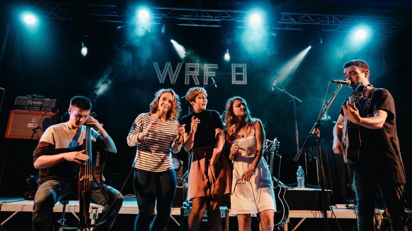 Lano, ou les soeurs Noémie, Luna et Zoé Postel, invitées d'honneur du grand concert de samedi soir.