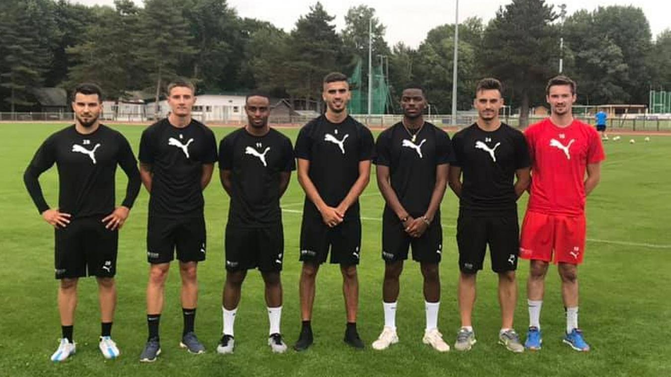 L'équipe A du TACFCO enregistre pour le moment l'arrivée de sept nouveaux joueurs.