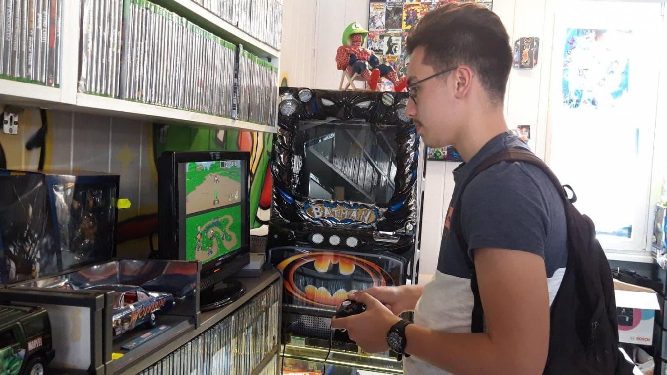Le magasin dunkerquois, Jeux Select & Start, accueille l'épicerie éphémère ce samedi. Les clients auront deux heures et demie pour s'acheter des produits alimentaires japonais.