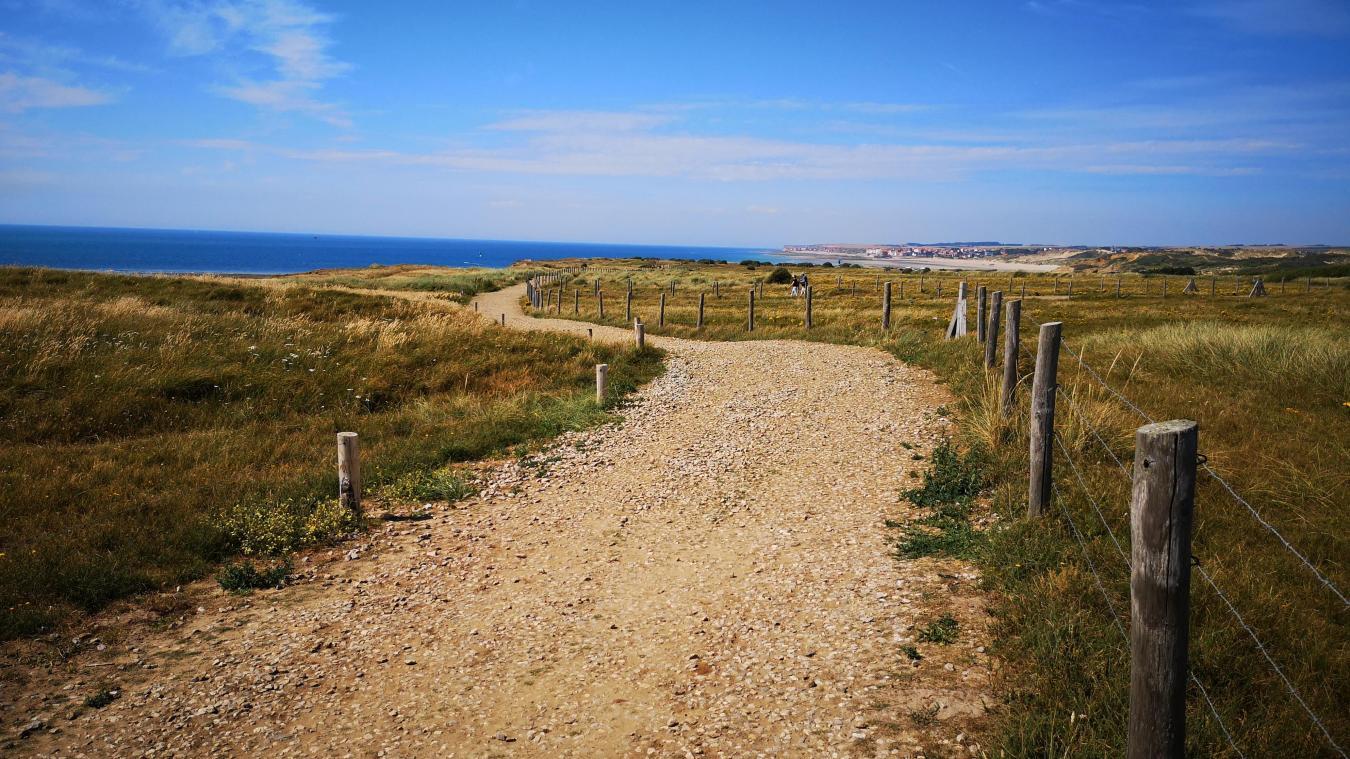 Le sentier a été élargi de trois à cinq mètres.