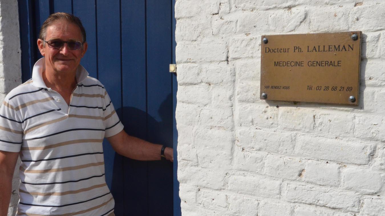 Le 28 juin, le docteur Philippe Lalleman a fermé une dernière fois la porte de son cabinet.