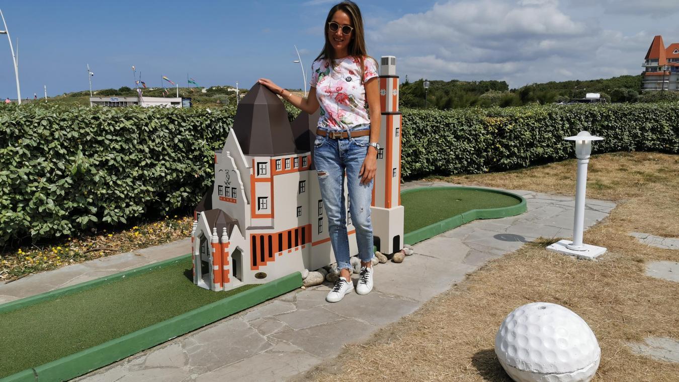 Marie-Louise installera bientôt des panneaux explicatifs devant chaque piste, en français et en anglais, ainsi qu'un trampoline