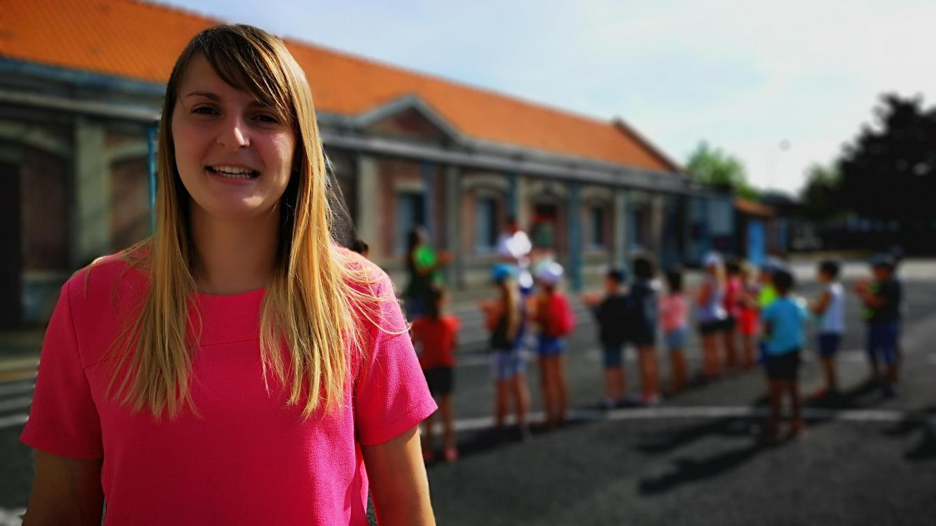 Bully-les-Mines: Laura Piton est déjà directrice à 23 ans