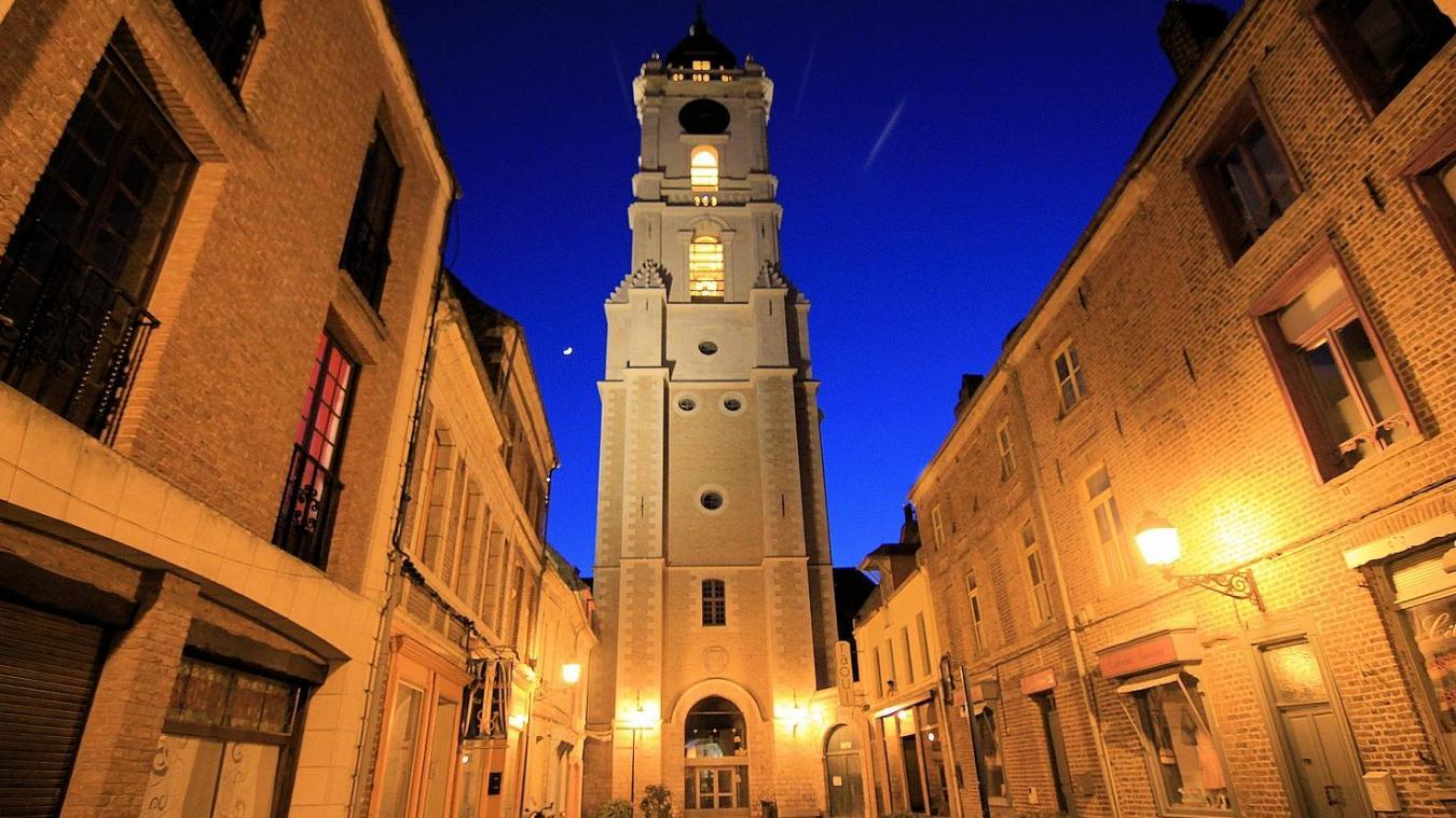 Le beffroi fait partie des monuments incontournables d'Aire-sur-la-Lys.