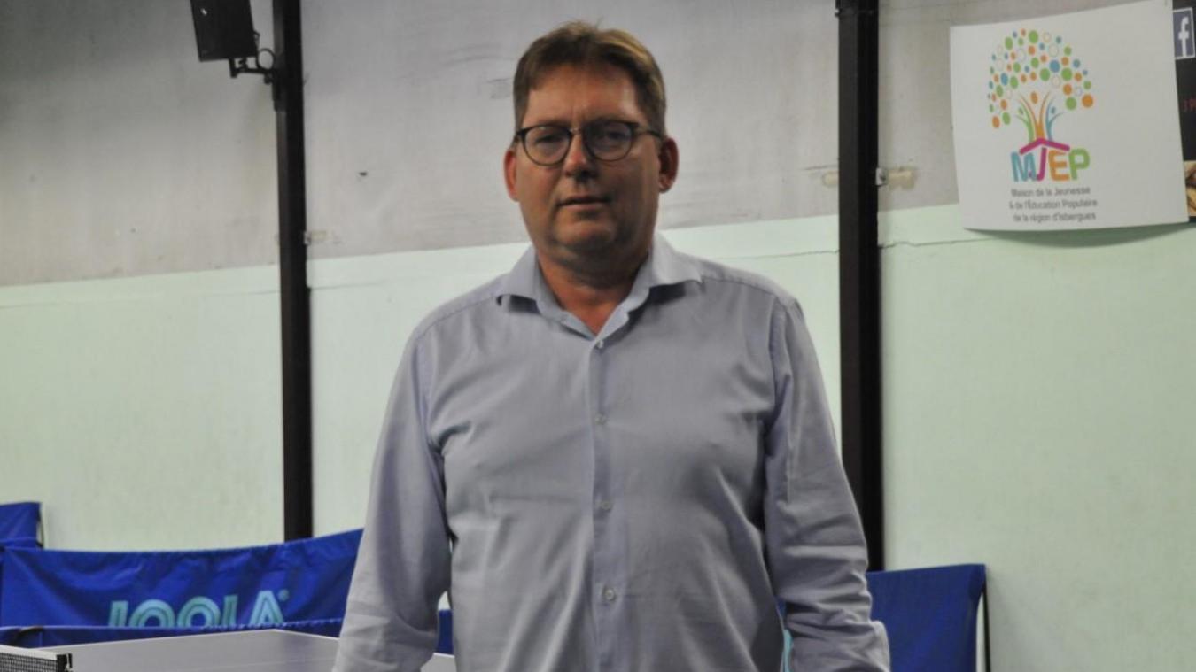Yves Gernez souhaite faire régner les valeurs de la MJEP au sein du club : la solidarité et le respect.
