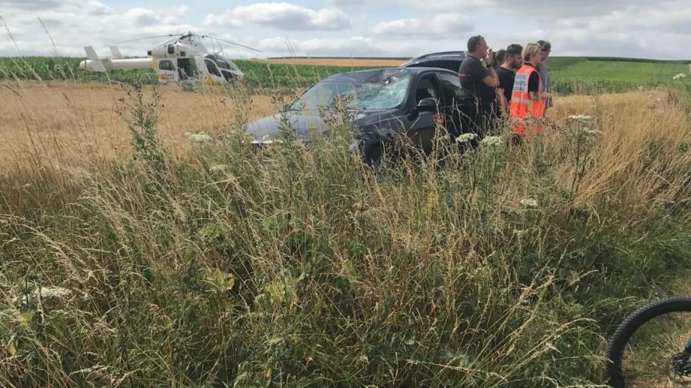 L'accident s'est produit ce dimanche 21 juillet. La victime, un vététiste, a dû être transportée vers le centre hospitalier de Lille en hélicoptère.