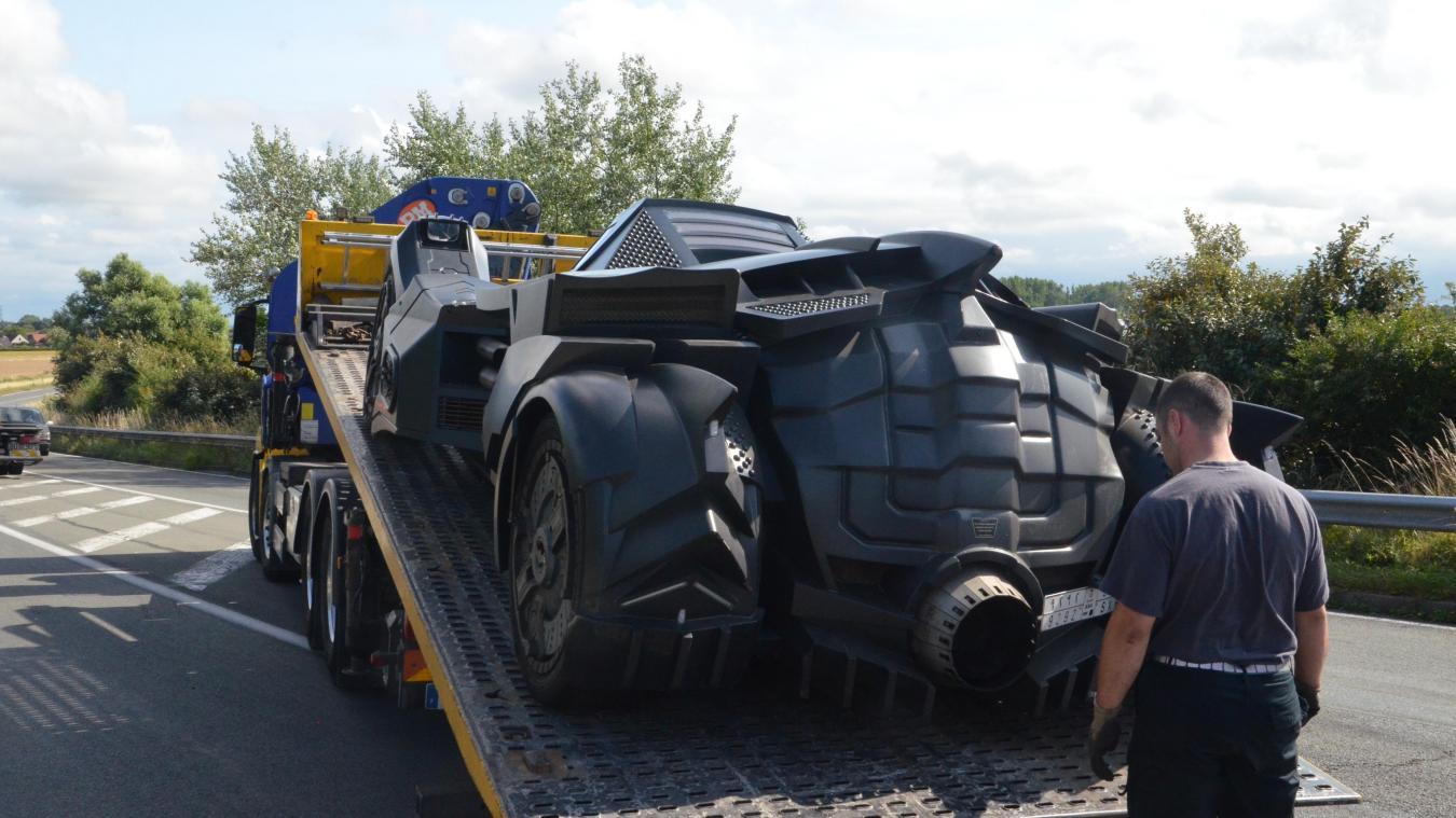 L'accident de la Batmobile alimente le buzz