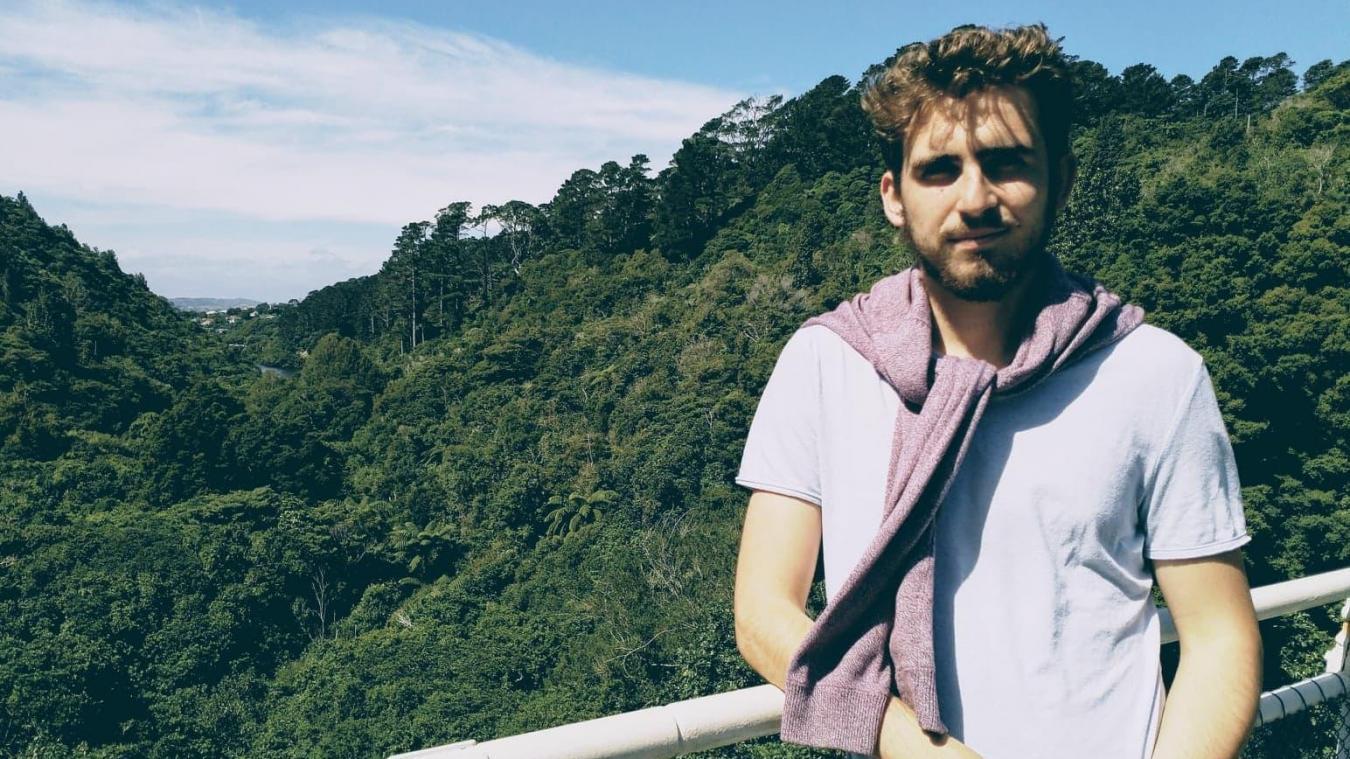 Rémi Hannotel a passé un an à Wellington, en Nouvelle-Zélande.