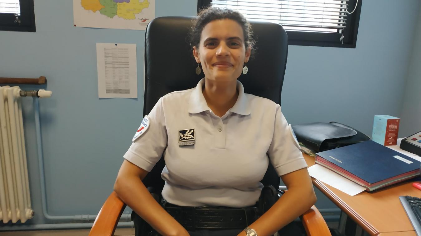 À 27 ans, Élisabeth Marcon est arrivée en tant que nouveau commissaire au commissariat lensois.