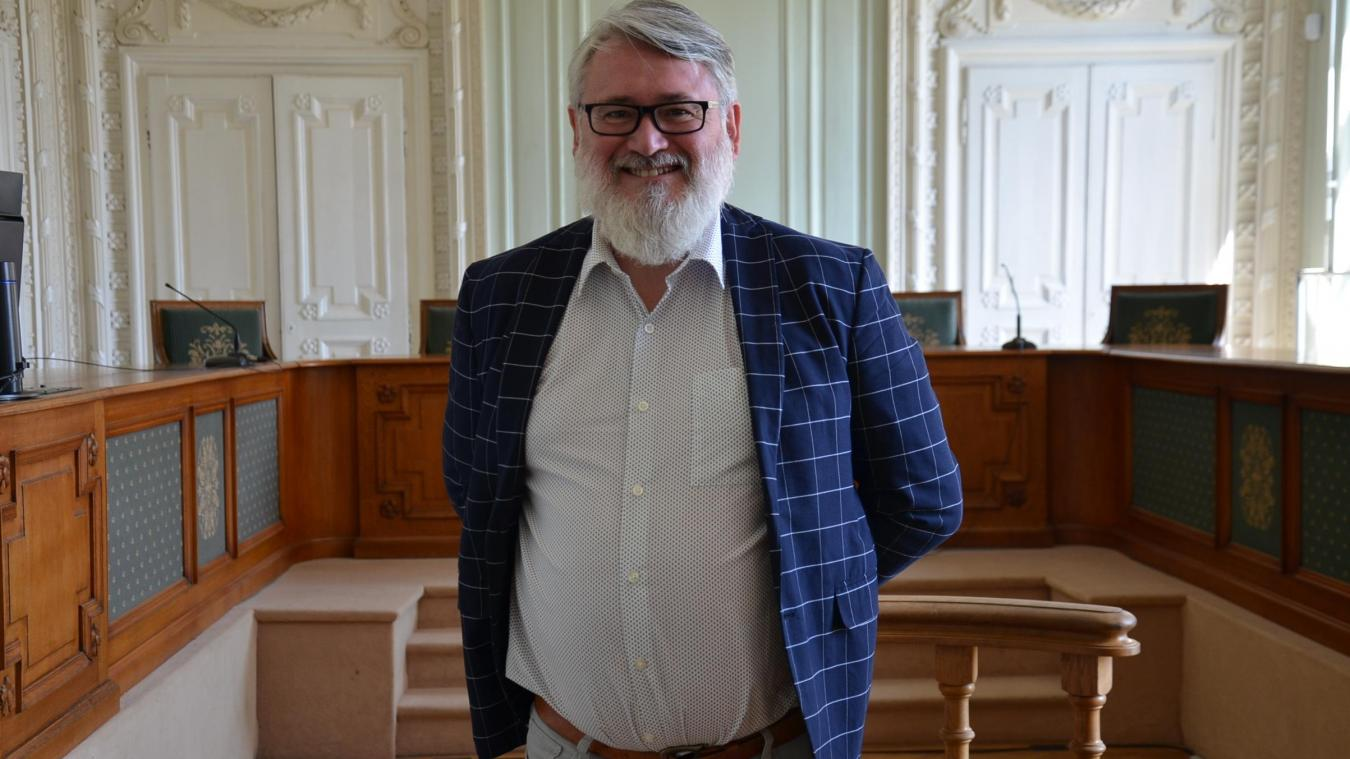 Sylvain Mahéo préside le tribunal de grande instance de Saint-Omer depuis près d'un an.