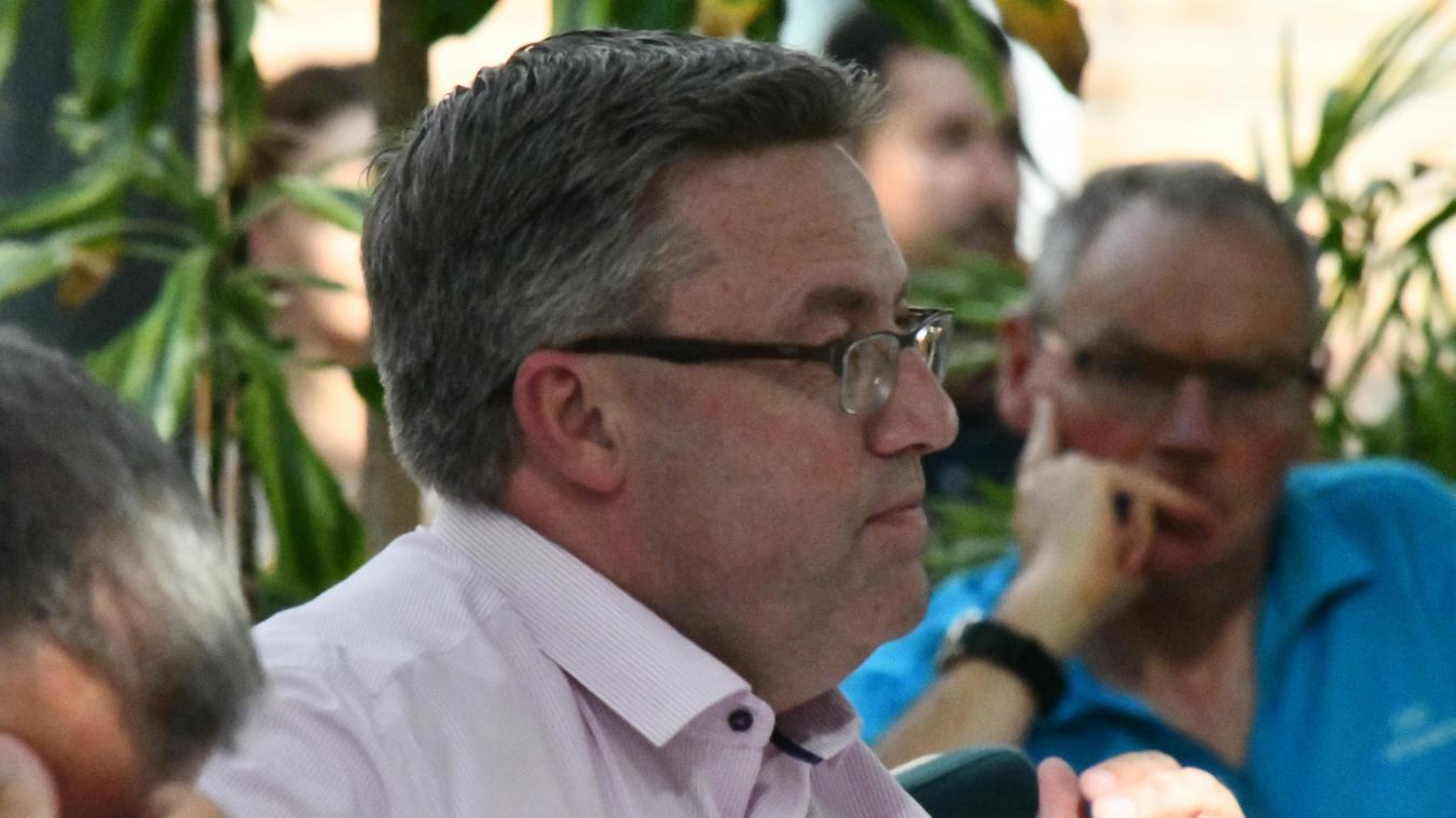 Martial Beyaert a succédé à Damien Carême après son élection en tant que député européen.