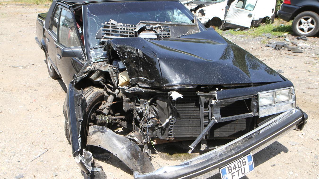 Un malaise du conducteur causé par la chaleur pourrait expliquer la sortie de route.