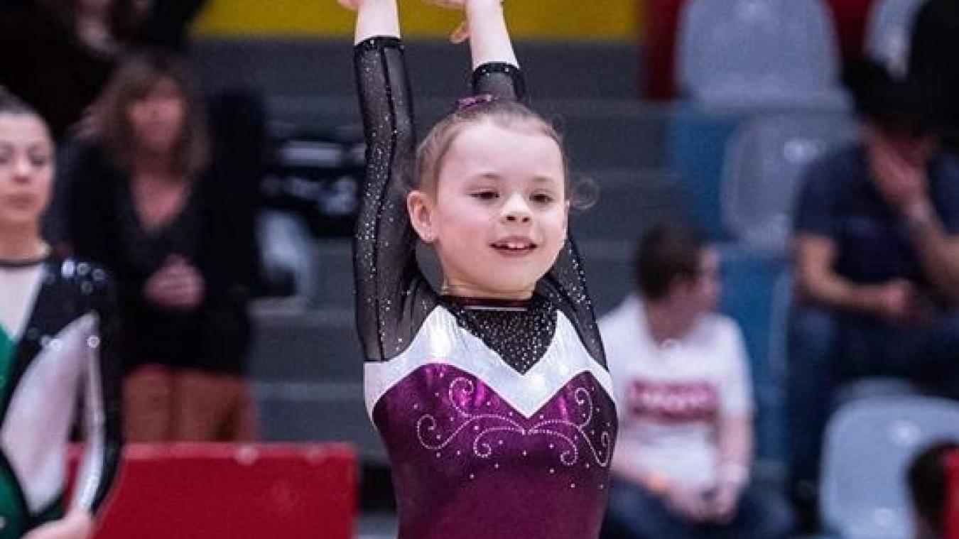 Willerval: Eden, gymnaste de 10 ans rêve des JO