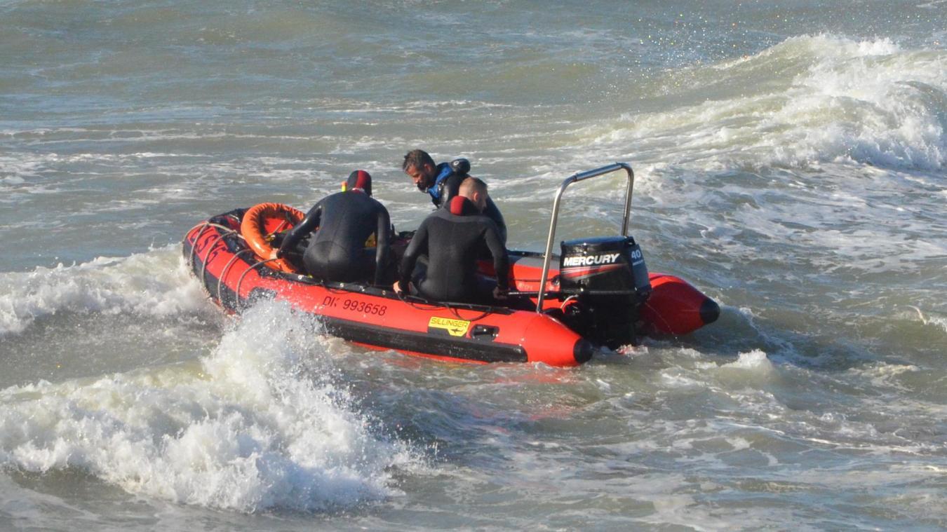 Les secours sont intervenus au niveau de la jetée-est. Photo d'illustration