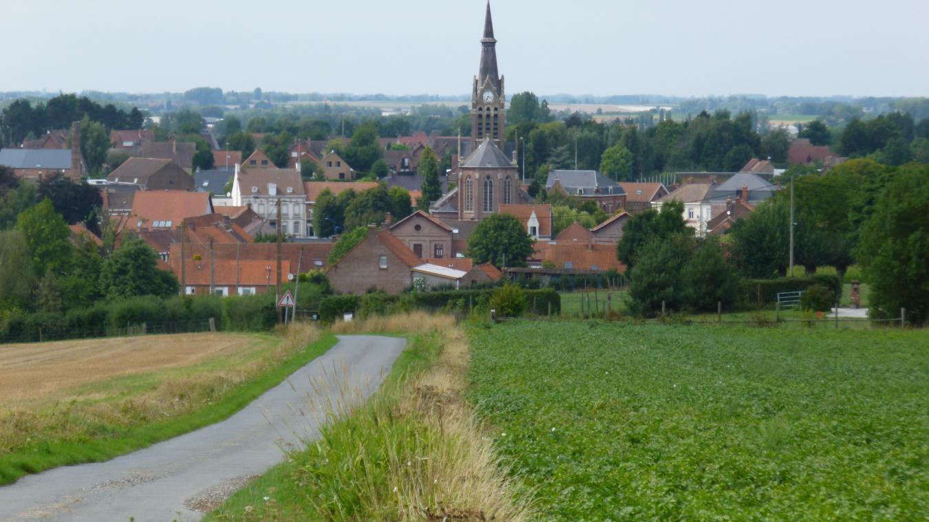 Le village de Godewaersvelde fait partie du circuit des Villages Patrimoines en Flandre.