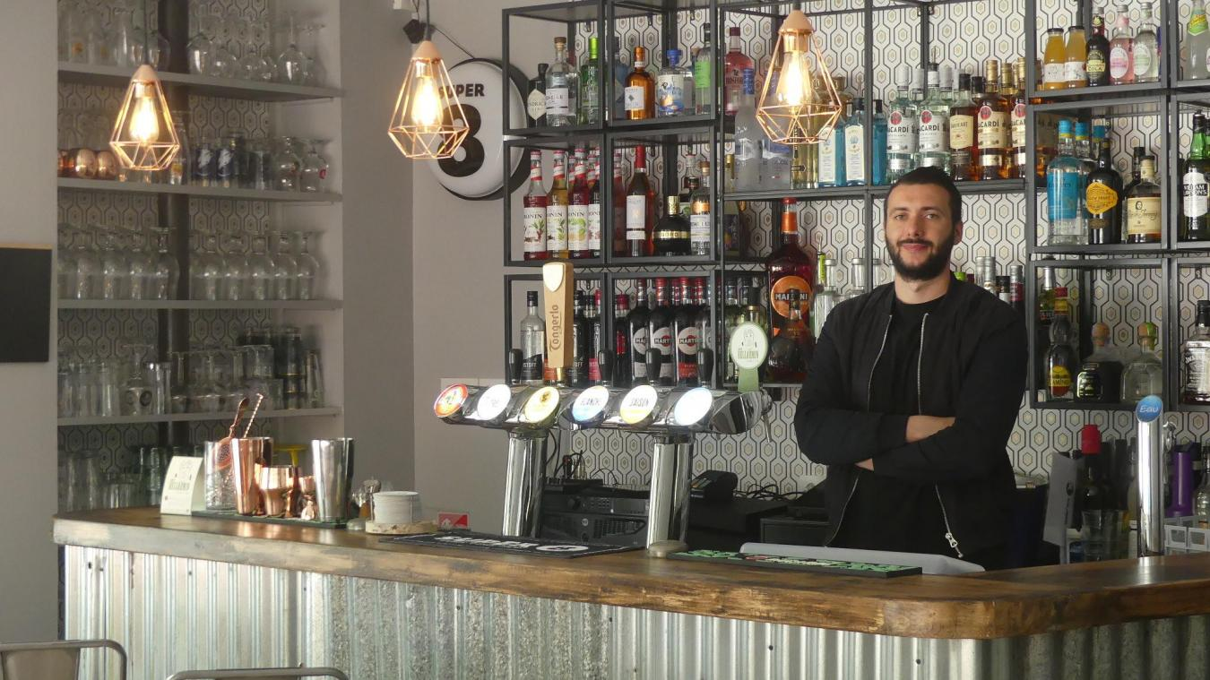 Aire-sur-la-Lys : D'Aire à Lille, Johann Bollier ouvre son bar