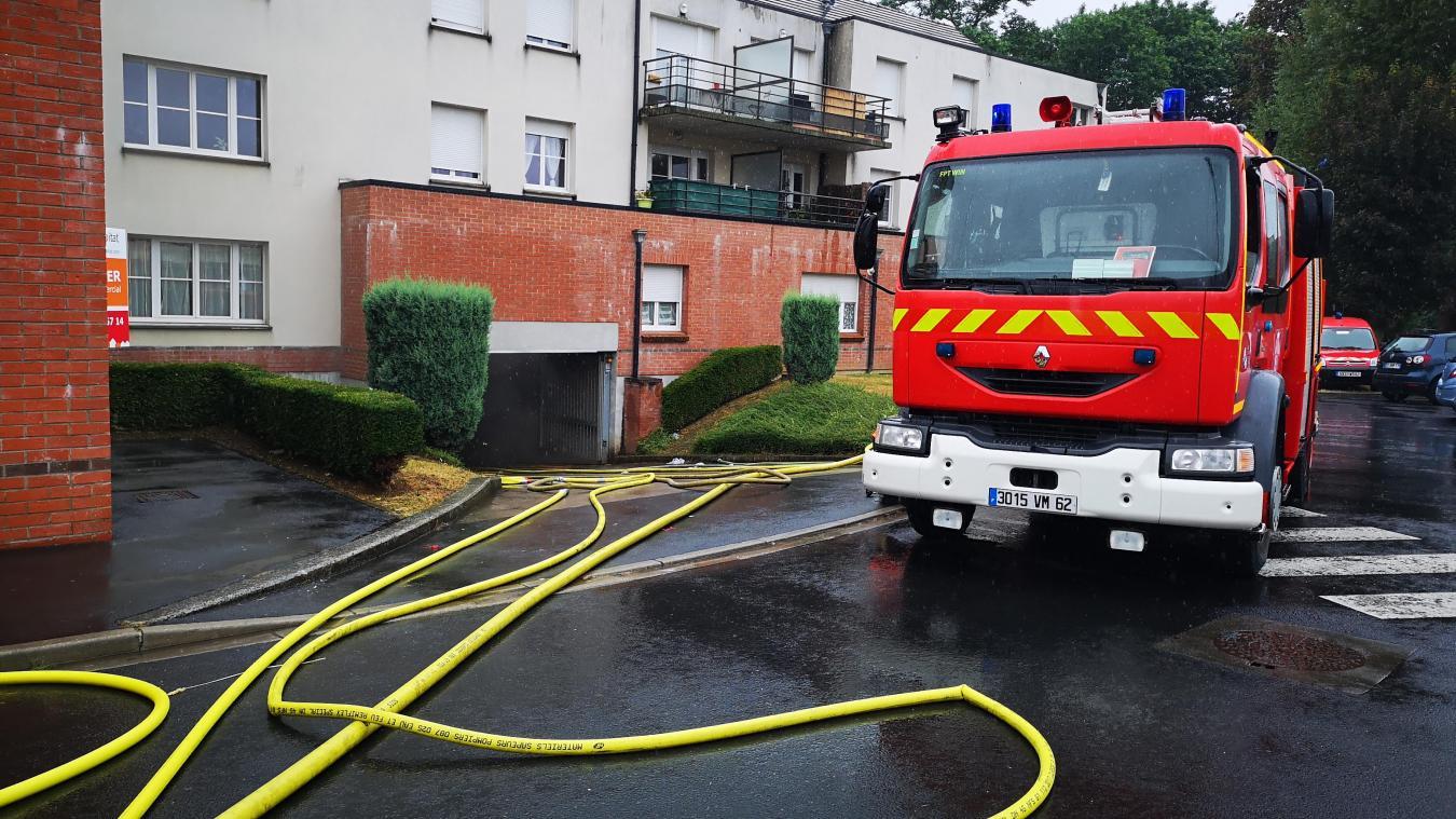 Wingles: toute une résidence évacuée à cause d'un incendie dans un garage sous-terrain (photos et vidéo)