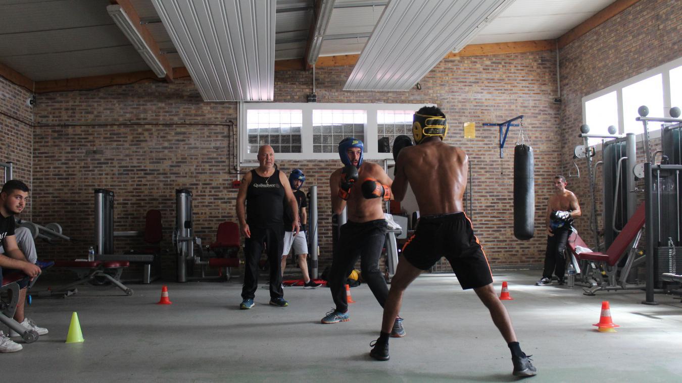 L'atelier boxe a réuni 10 détenus sélectionnés par la direction.