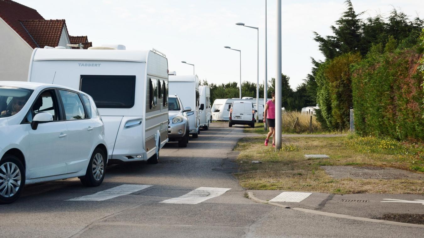 Les 220 caravanes ont quitté Berck ce lundi 29 juillet en matinée.