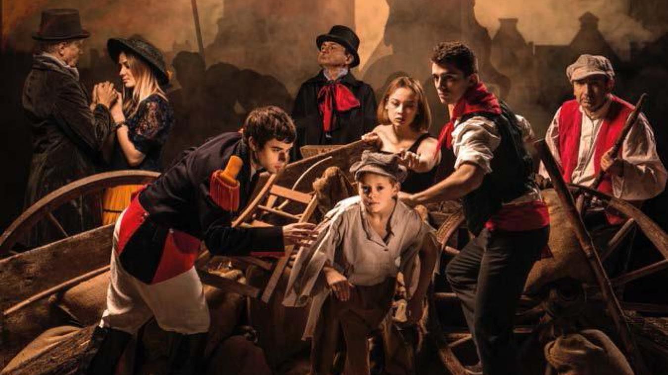 Les Misérables, c'est une intrigue palpitante portée par des acteurs bénévoles habités par les personnages.