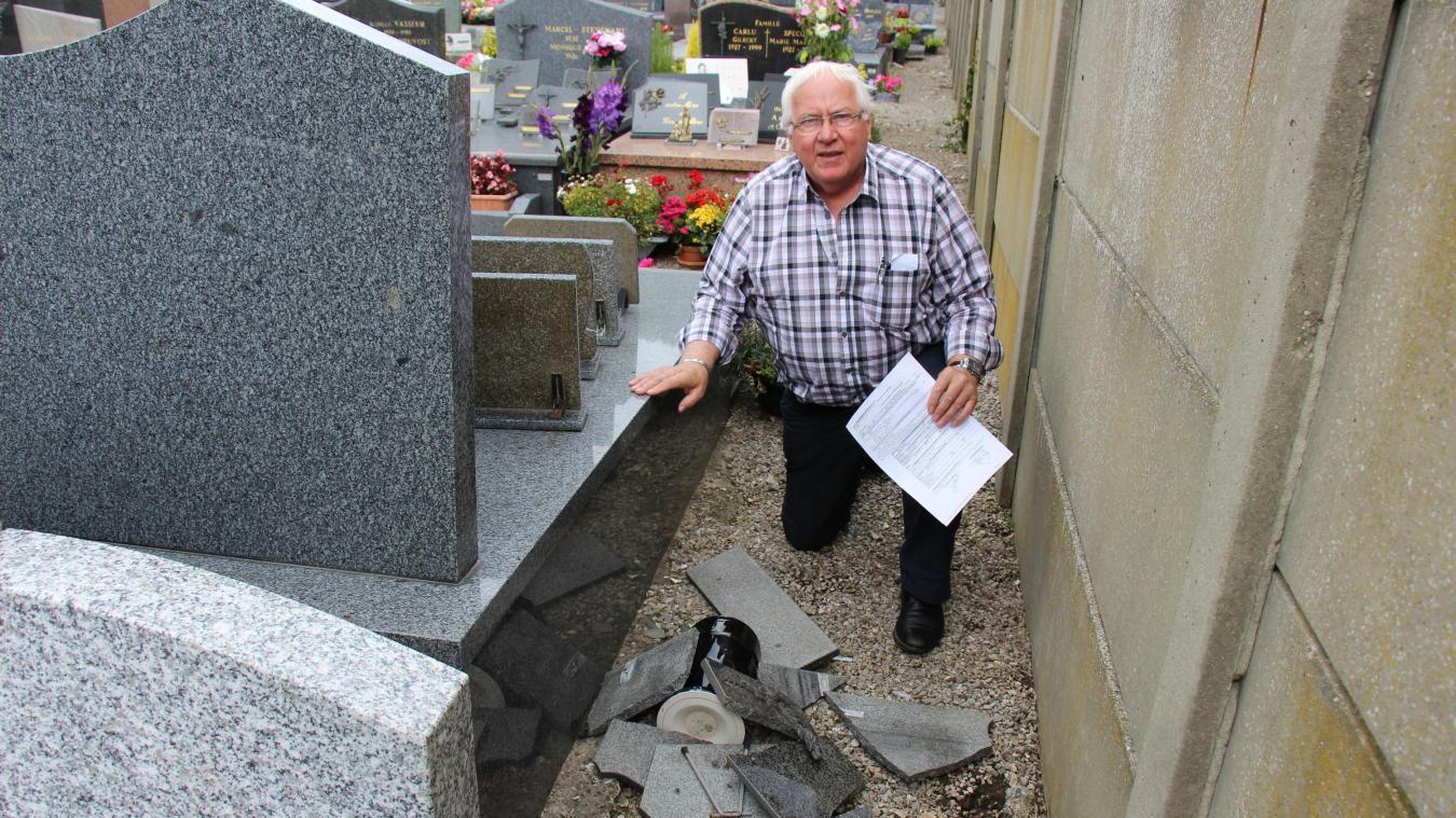 Quesques : des dégradations commises au cimetière