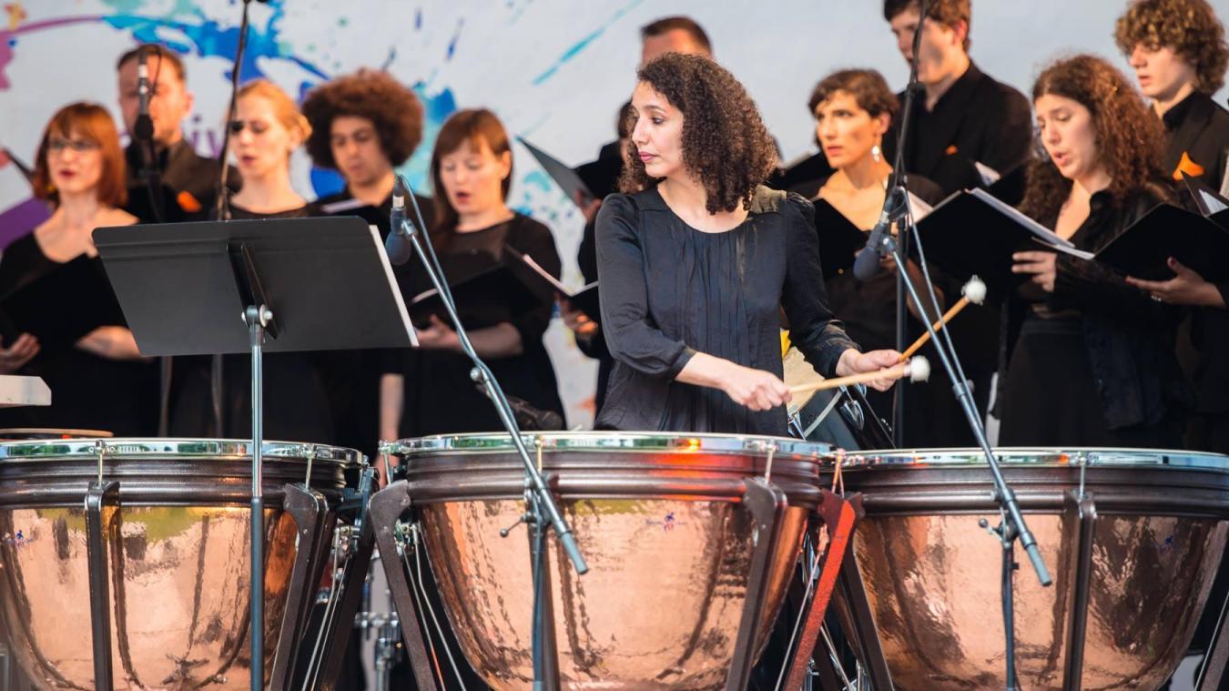 Nadia Bendjaballah offre un concert le 21 septembre à 13 h à la B!B, en plus de la restitution des différents ateliers.