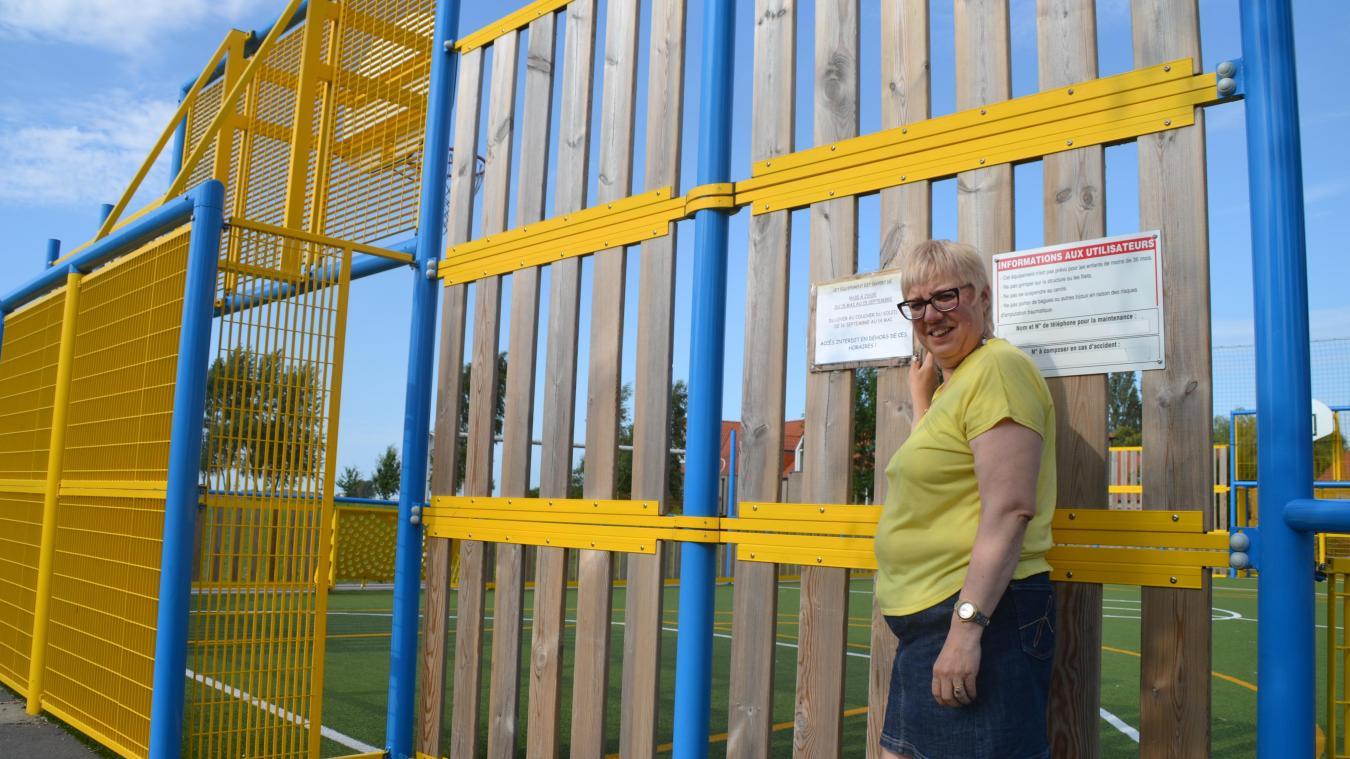 Murielle Feryn, conseillère municipale, a décidé d'agir pour la sécurité des usagers et la tranquillité des riverains.