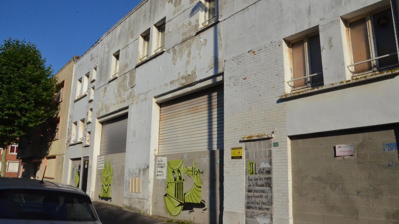 La friche Mahé se trouve aux 43 et 45 de la rue de l'Abbé-Choquet. C'est là que la Ville désire créer une maison du cinéma.