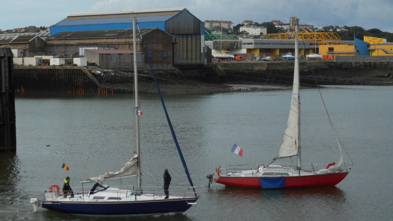 Il y a un an, Christian Ratel proposait un emplacement pour une descente à bateaux dans l'avant-port de Boulogne.