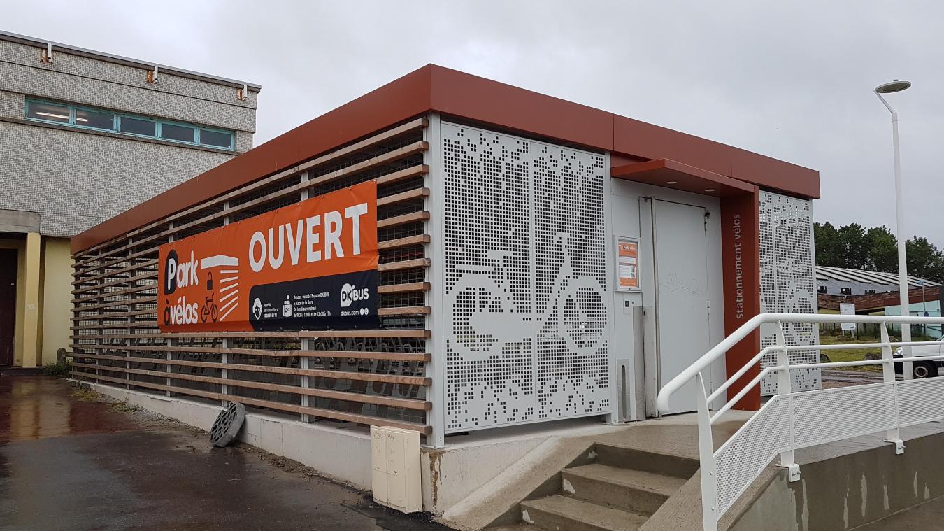 Le nouveau parc à vélos contient 50 places, à côté de la piscine Paul-Asseman.