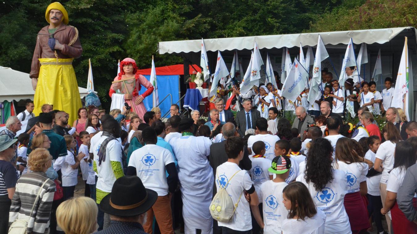 L'inauguration du Village est toujours un moment de grande communion, même entre Israéliens et Palestiniens...