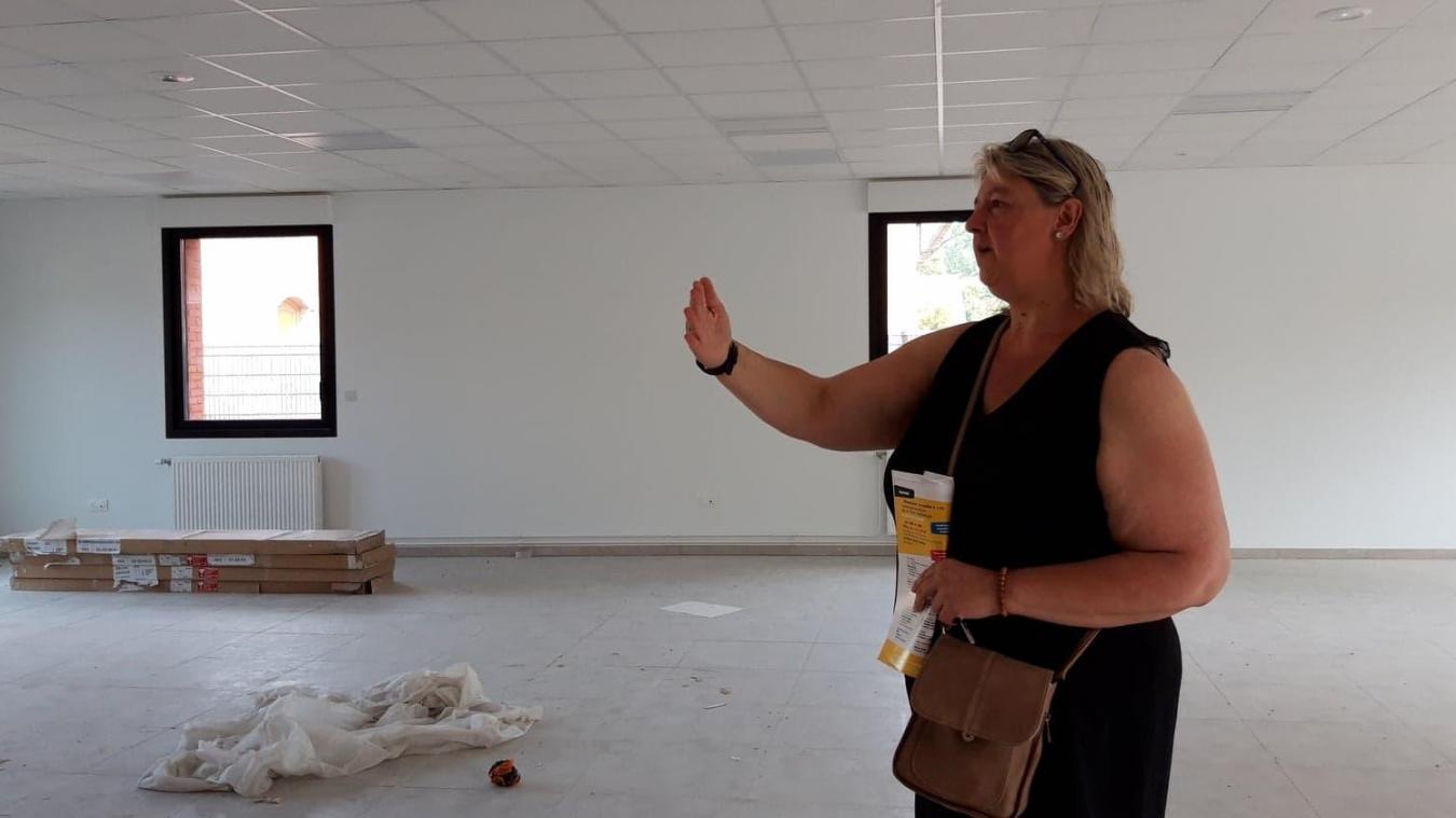La nouvelle Maison des arts va s'installer dans les anciens locaux du CCAS, agrandis et réaménagés.
