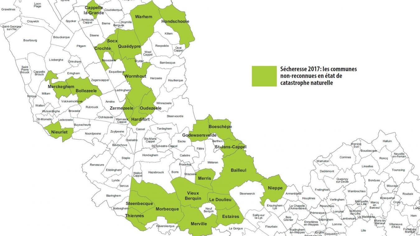 De Cappelle-la-Grande à Nieppe, en passant par Zermezeele, Morbecque ou Bailleul, les communes non-reconnues sont nombreuses. Et les victimes aussi.