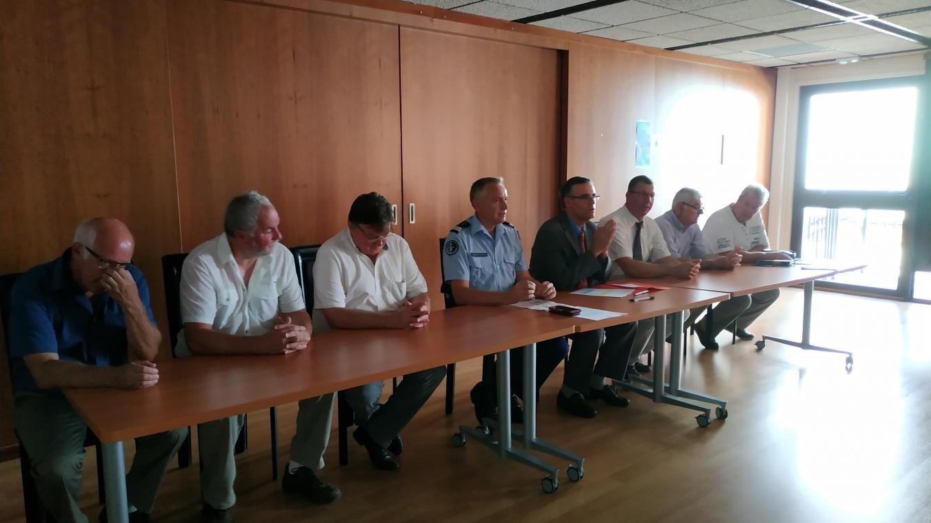 La signature officielle a eu lieu en sous-préfecture de Béthune le 24 juillet.