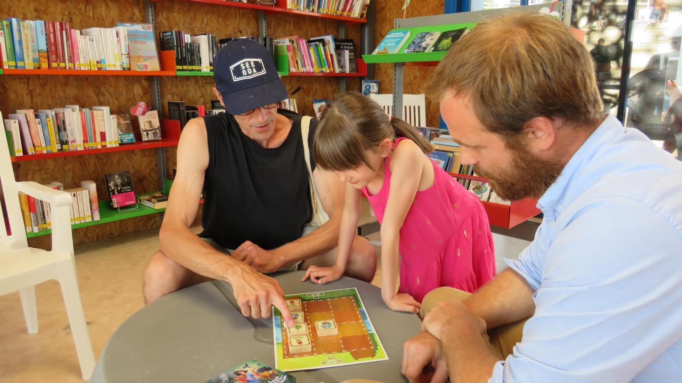 Boulogne-sur-Mer : la bibliothèque de plage, tout un programme !