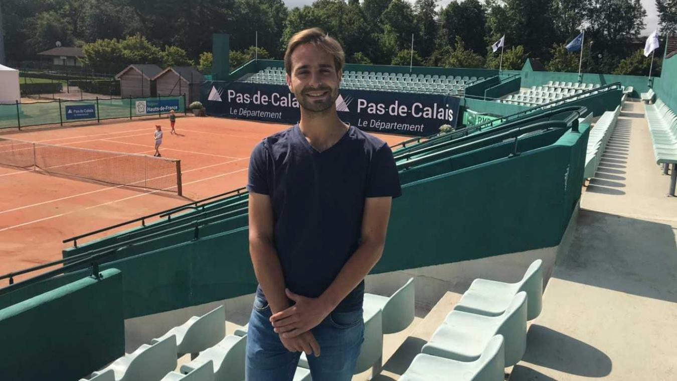 Théo Parmentier est le président du club de tennis touquettois depuis maintenant un peu plus de deux ans.