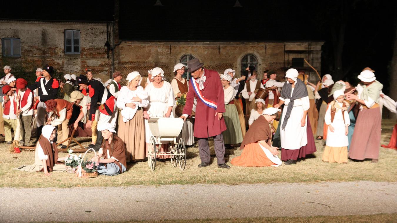 Rendez-vous à la citadelle de Montreuil pour voir ou revoir le son et lumière Les Misérables.