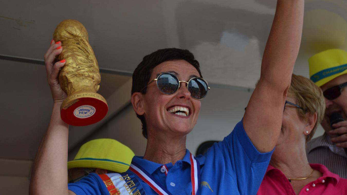 La belge Katty Vanmassenhove a remporté son second titre ce dimanche.