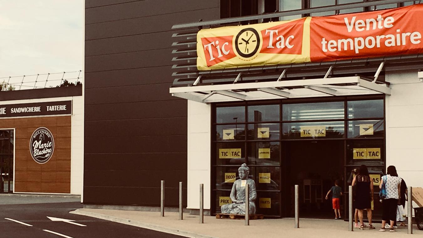 Un magasin éphémère a ouvert il y a quelques jours, rue de Constantinople, dans la zone commerciale Val de Lys.