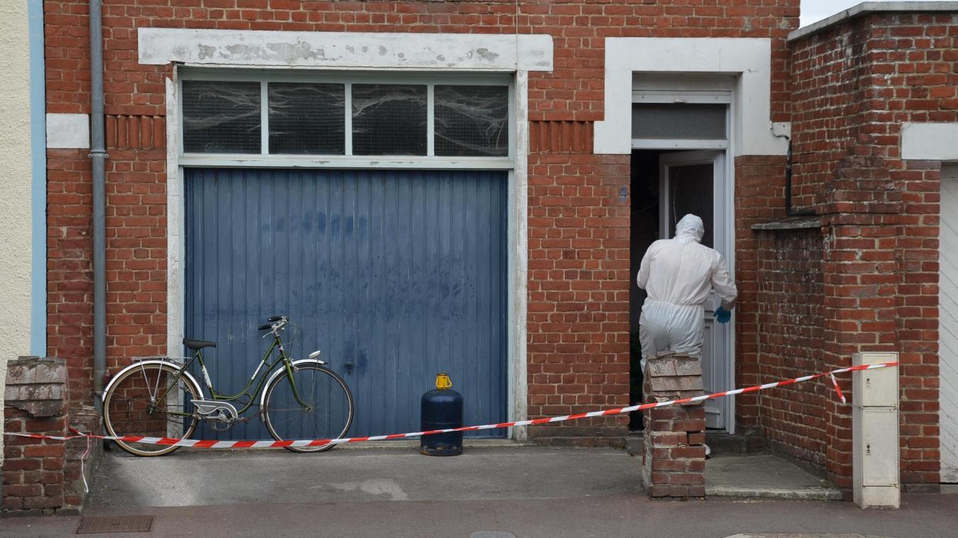 La cellule d'investigation criminelle d'Arras s'était déplacée sur les lieux pour enquêter.