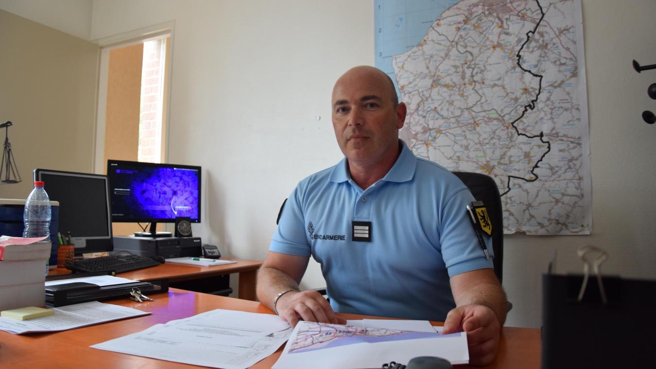 Le capitaine Laurent Martin de Morestel a pris ses quartiers depuis début août.