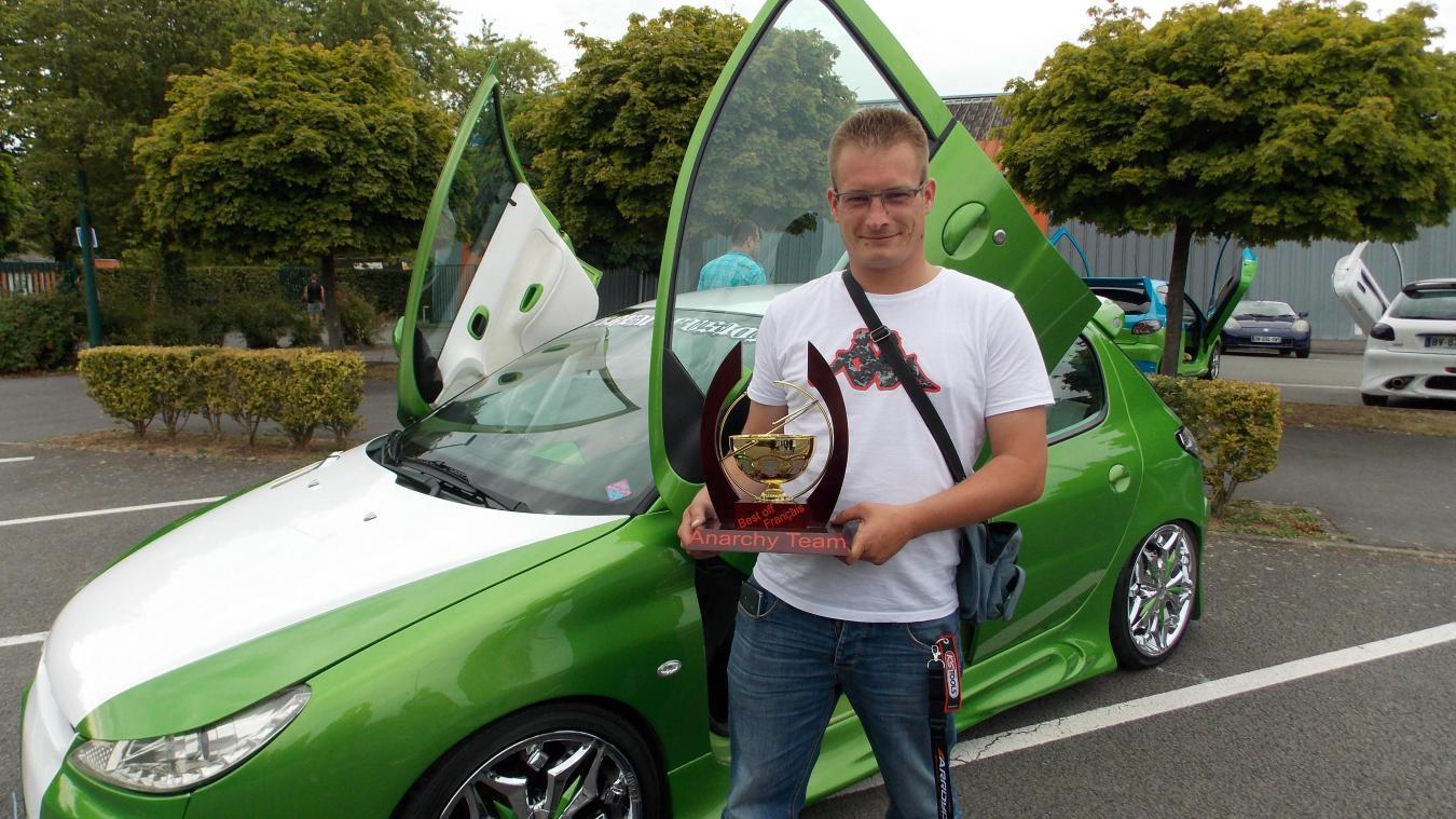 Le vainqueur en a fait des kilomètres pour participer au rassemblement isberguois.