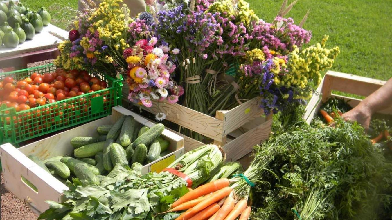 Des produits locaux et de saison vous seront proposés.