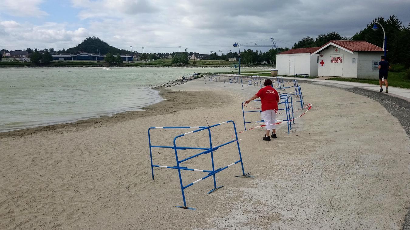 Nœux-les-Mines : la baignade à Loisinord est de nouveau interdite