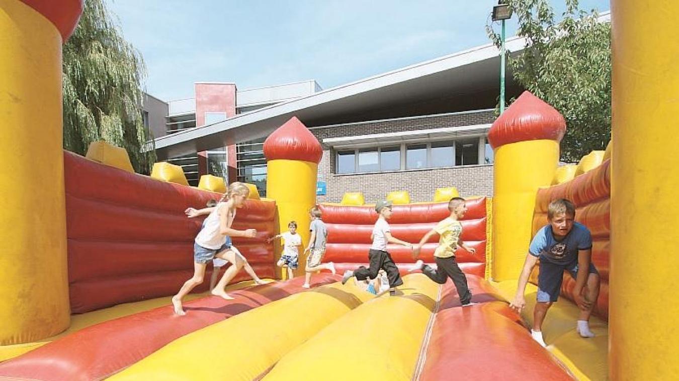 Des structures gonflables seront en accès gratuit le 15 août sur la place d'Hazebrouck. ©Photo d'illustration