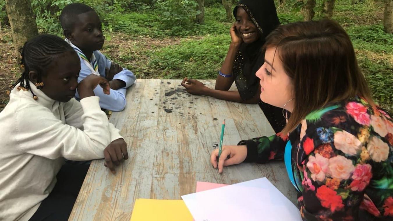 Irma et Dadi s'investissent dans la vie de la commune, comme ici sur le Village des enfants.