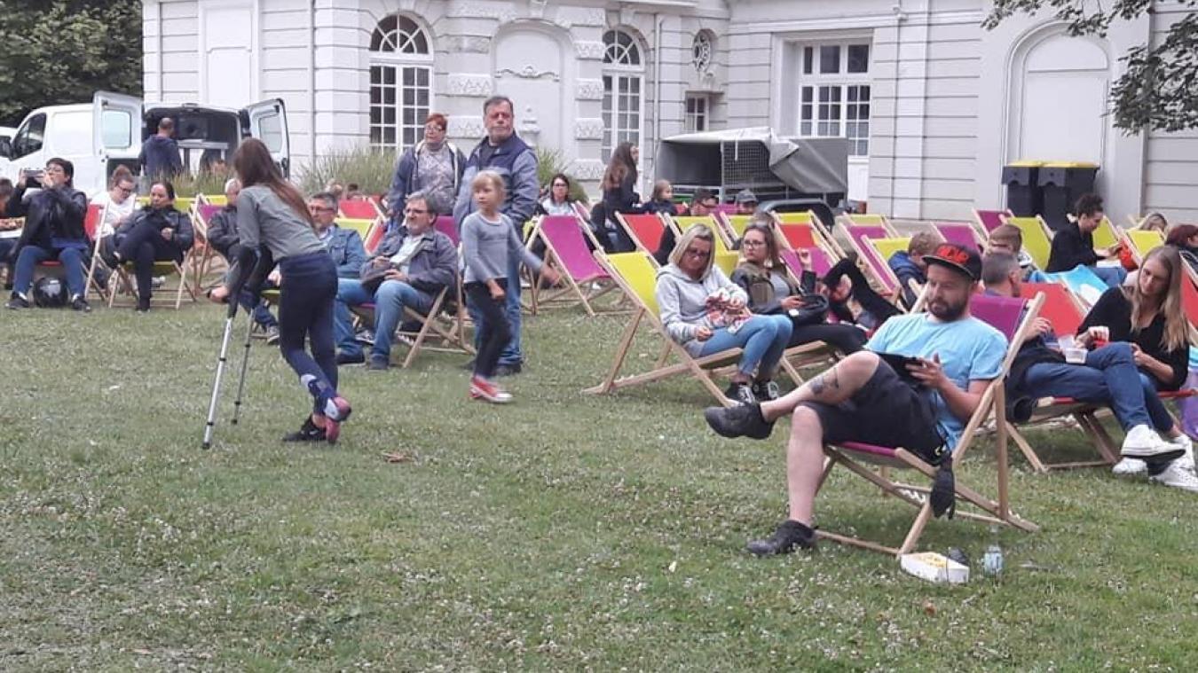 Plus de 100 personnes avaient assisté à la première séance. (Photo : Ville de Mazingarbe)